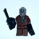 Lego 2012 Zombie brown suit set 850487 minifigure